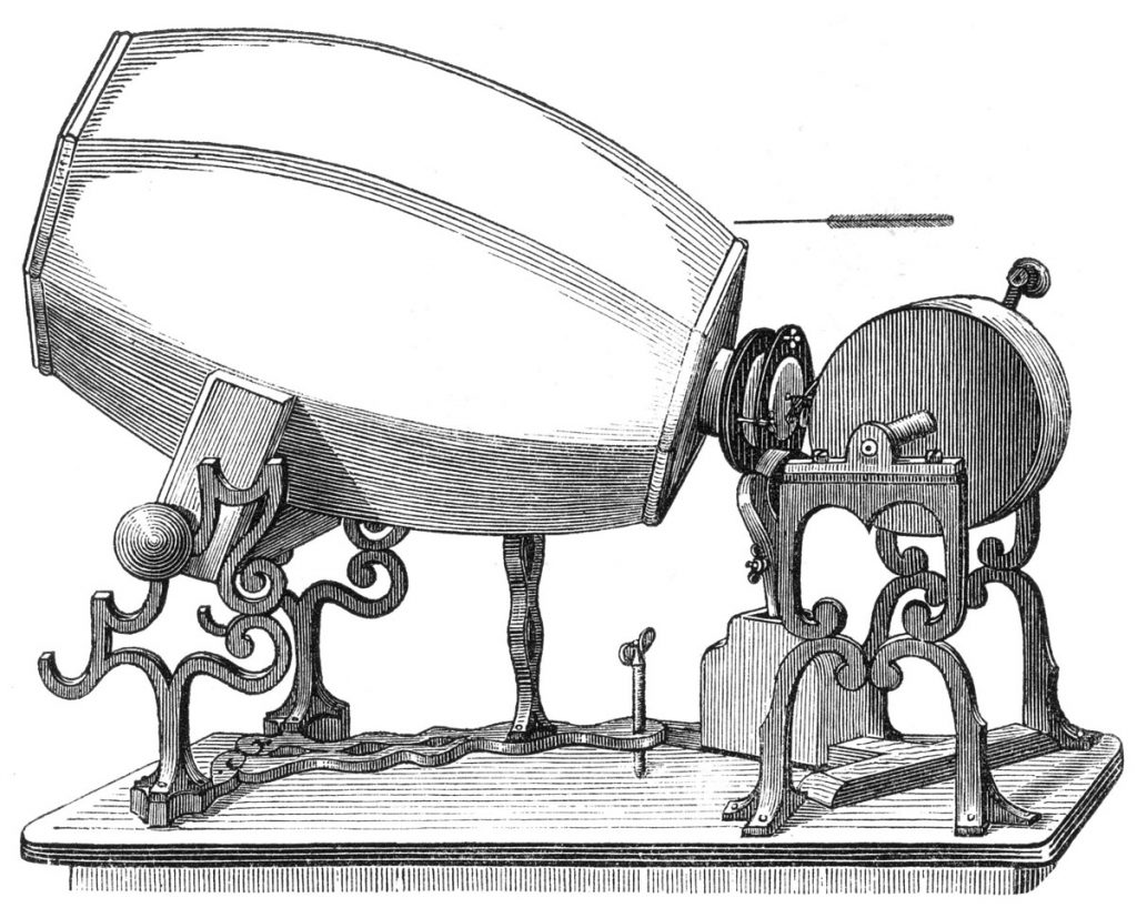 Phonautograph - First Sound Recorder Device