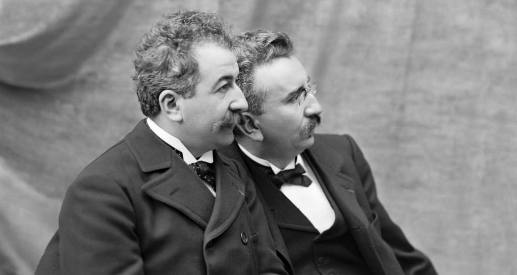 Louis Lumiere  and Auguste Lumiere -Origin of Cinema