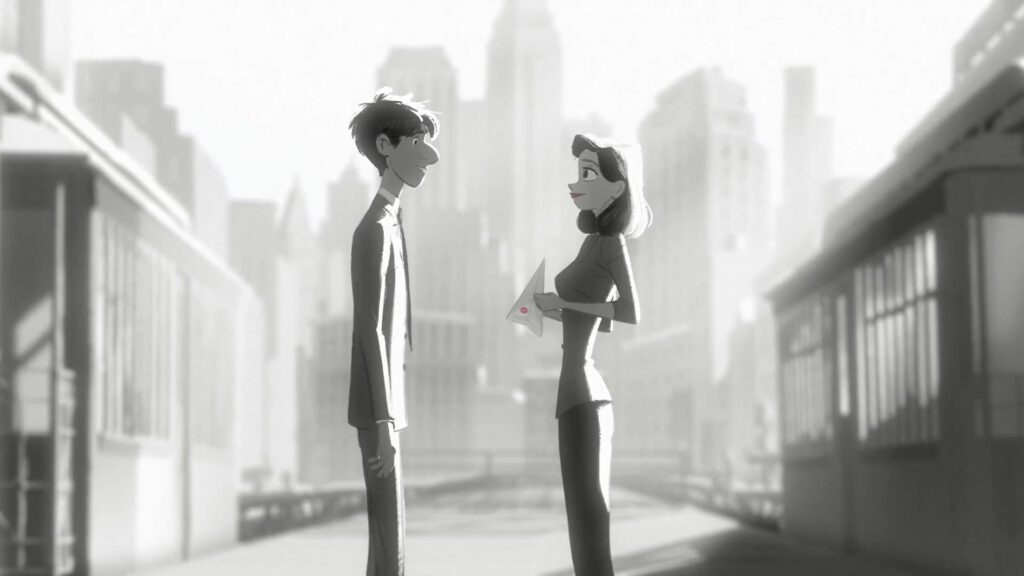 Disney Paperman - Animaders