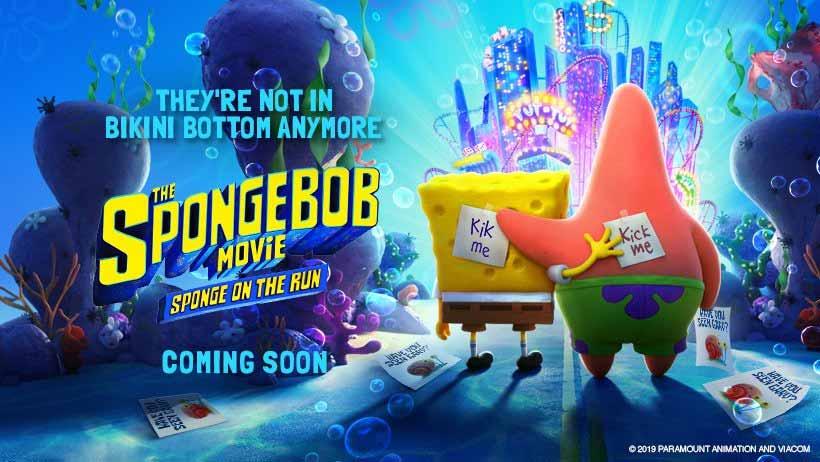 The SpongeBob Movie: Sponge on the run - Animaders