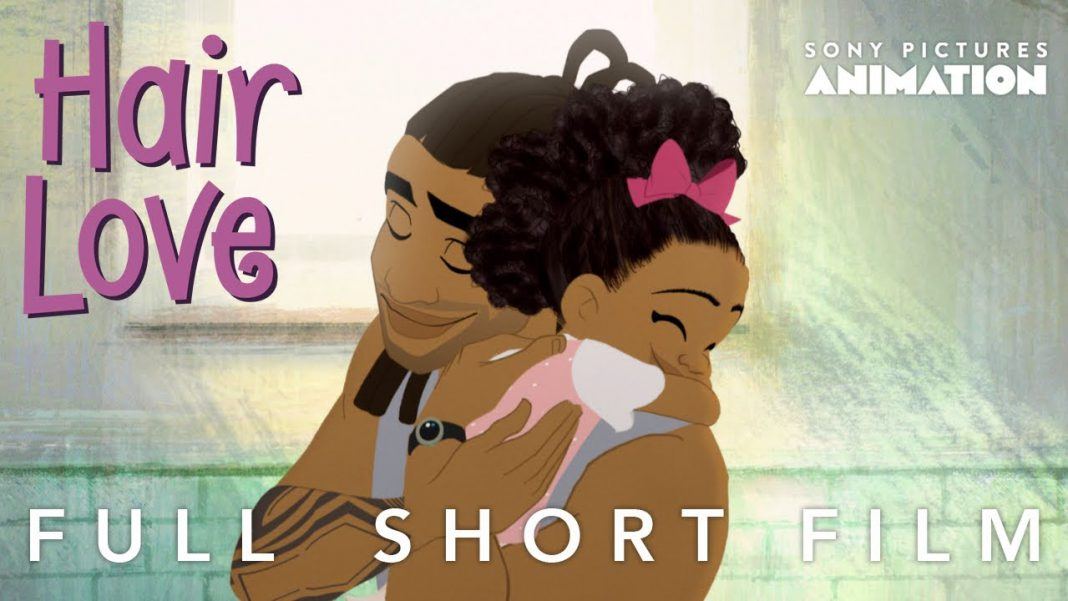 Hair Love - Story of a father, his Daughter and her hair