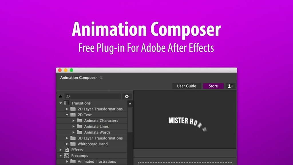 Animation Composer - Animaders