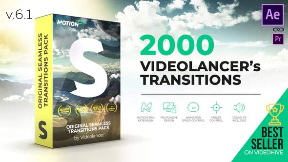 Handy Seamless Transitions - Top 10 Plugin and Scripts For Adobe After Effect - Animader
