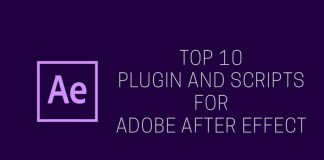 Top 10 Plugin and Scripts For Adobe After Effect