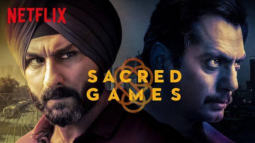 VFX process of sacred games 2